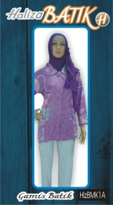 085706842526 INDOSAT, Baju Batik, Baju Blus Batik, Model Blus, HLZBMK1A, http://grosirbatik-pekalongan.com/blus-hlzbmk1a/