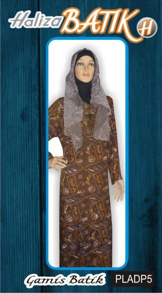 http://grosirbatik-pekalongan.com/gamis-pladp5/ , www.halizabatik.com, batik pekalongan, seragam batik, baju batik, Baju Gamis, Gamis Batik, Gamis Terbaru, PLADP5